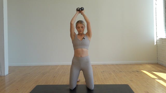 15 MIN ABS & ARMS