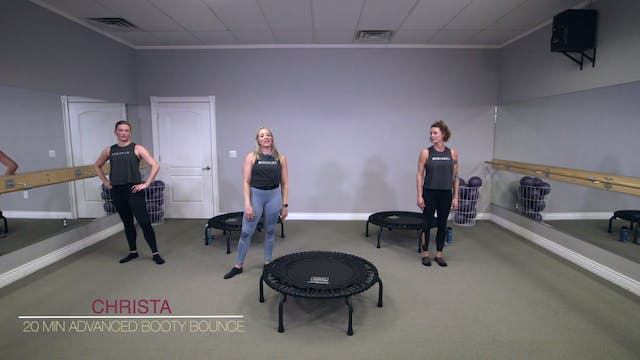 15 Minute Beginner Booty Bounce Quickie Quickie Series Fit Forte Online