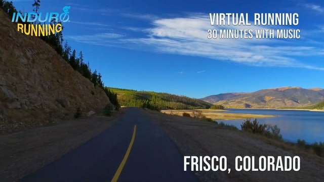Induro Running: Breckenridge to Frisco, Colorado - 30 Minute Run