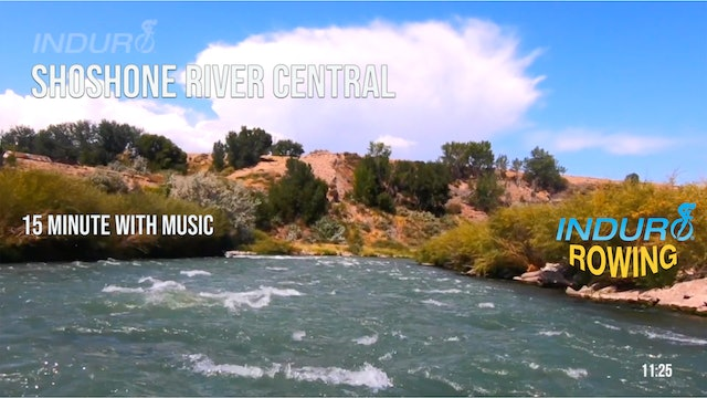 Induro Rowing with Music: Shoshone River Central, Wyoming - 15 Minute Motion Row