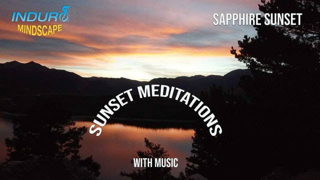 Induro Mindscape with Music: Sapphire Sunset, Colorado