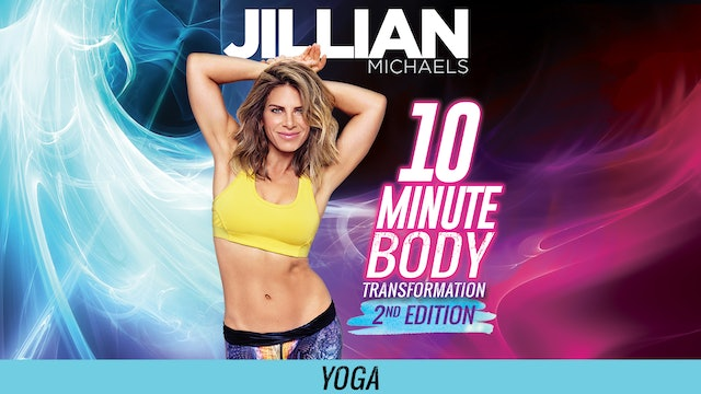 Jillian Michaels: 10 Minute Body Transformation 2nd Edition - Yoga