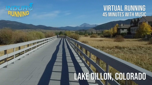 Induro Running: Lake Dillon, Colorado - 45 Minute Run