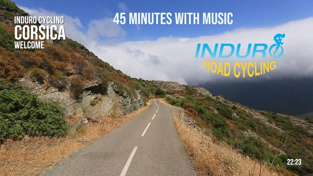 Induro Cycling with Music: Corsica, France - 45 Minute Ride