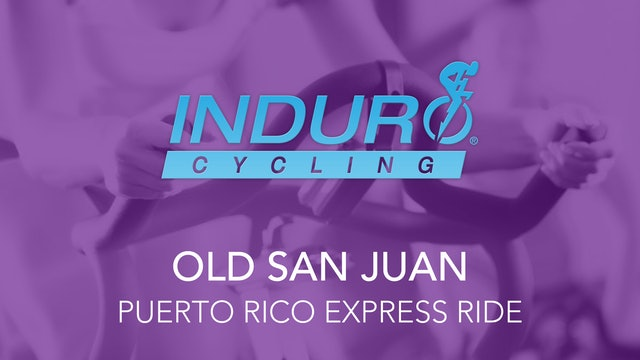 Induro Cycling Studio: Old San Juan, Puerto Rico Express Ride