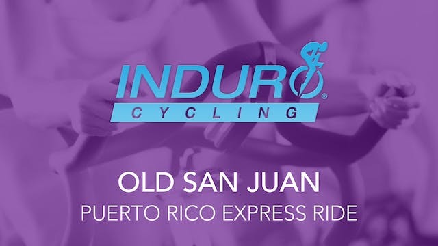 Induro Cycling Studio: Old San Juan, ...
