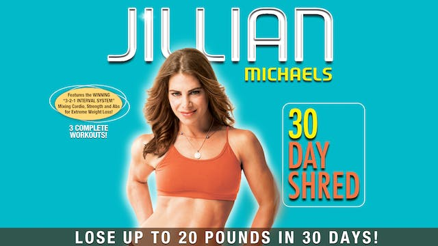 Jillian Michaels: 30 Day Shred - Comp...