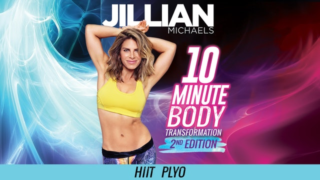 Jillian Michaels: 10 Minute Body Transformation 2nd Edition - HIIT Plyo