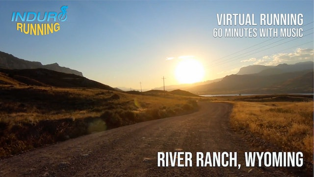 Induro Running: River Ranch, Wyoming - 60 Minute Run