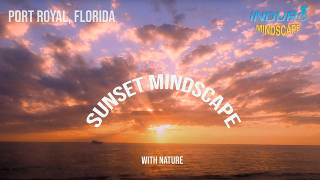 Induro Mindscape with the Sounds of Nature: Port Royal, Florida Sunset