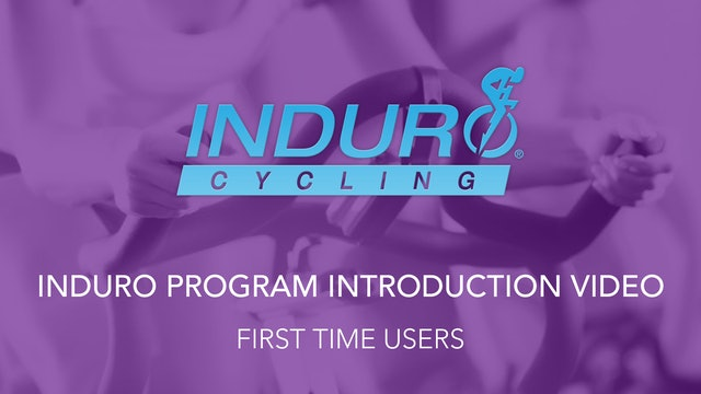 Induro Program Introduction Video Recommended for First Time Users