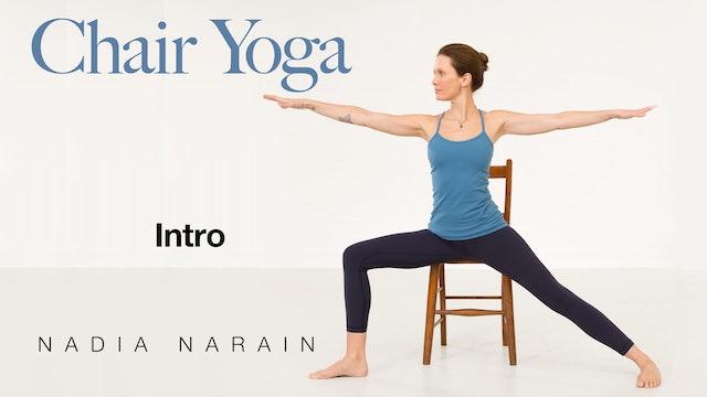 Nadia Narain: Chair Yoga  - Introduction