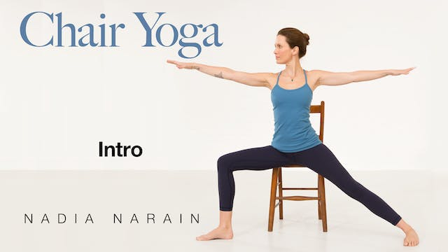 Nadia Narain: Chair Yoga  - Introduction