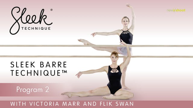 Sleek Barre Technique: Program 2