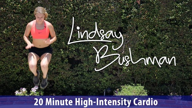 Lindsay Bushman: 20 Minute High Inten...