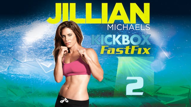 Jillian Michaels: Kickbox Fast Fix 2