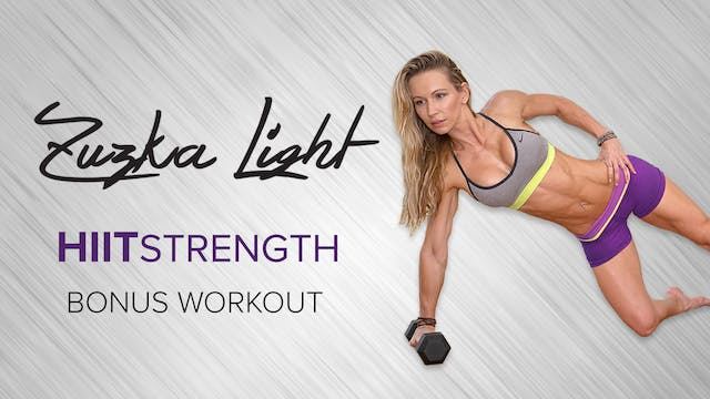 Zuzka Light: HIIT Strength Bonus Workout