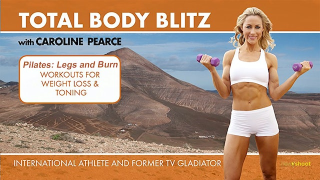 Caroline Pearce: Total Body Blitz - Pilates Legs And Bum