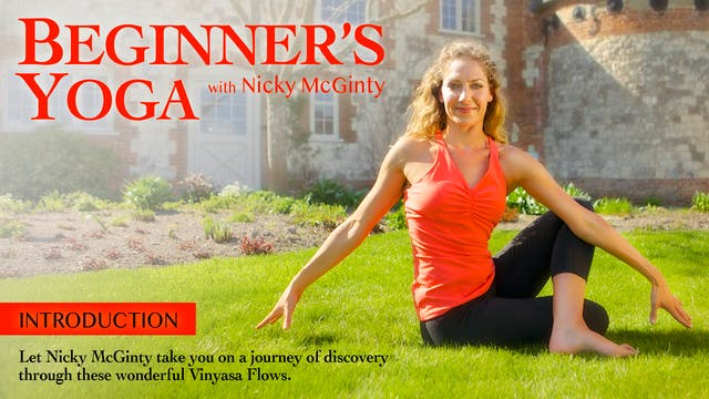 Beginners Yoga with Nicky McGinty: In...