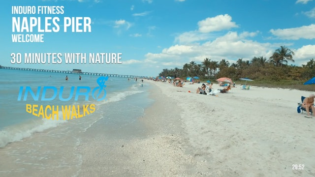 Induro Beach Walking with Nature: Naples Pier, Florida - 30 Minute Walk