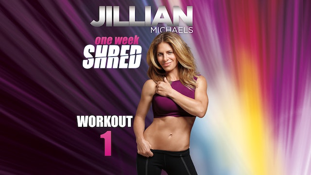 Jillian Michaels: One Week Shred - Workout 1