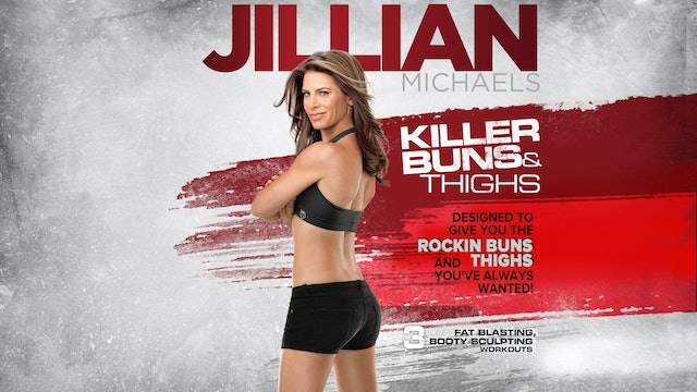 Jillian Michaels: Killer Buns & Thighs - Complete