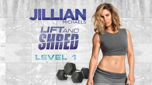 Jillian Michaels Lift and Shred Worko...