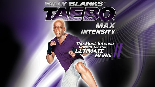 Billy Blanks: TaeBo Max Intensity
