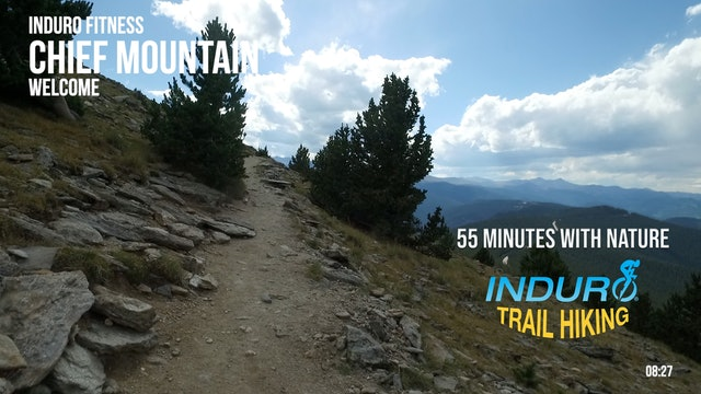 Induro Trail Hiking with Nature: Chief Mountain, Colorado - 55 Minute Hike