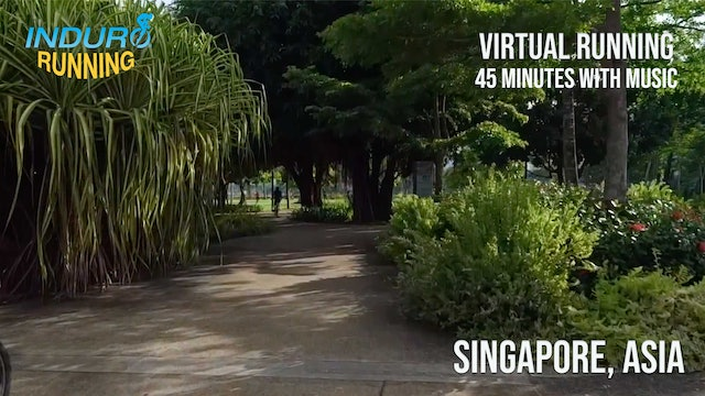 Induro Running: Singapore, Asia - 45 Minute Run