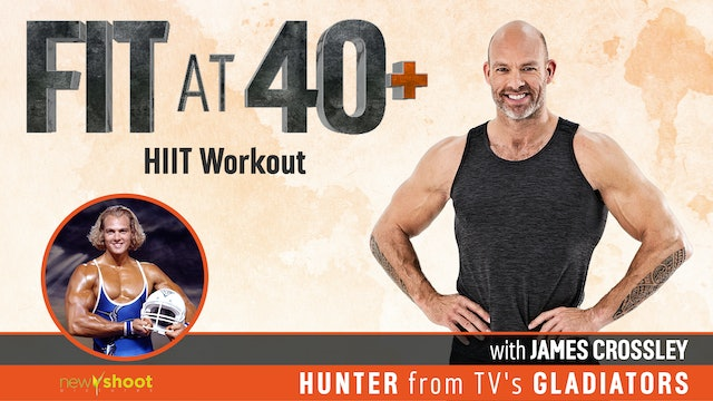 Fit at 40+ with James Crossley: HIIT Workout
