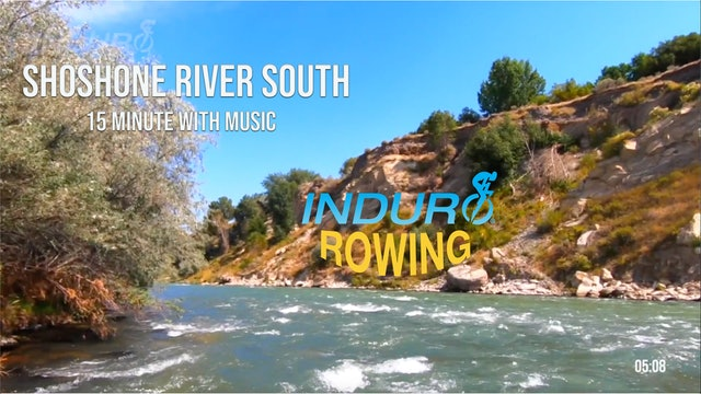 Induro Rowing with Music: Shoshone River South, Wyoming - 15 Minute Motion Row