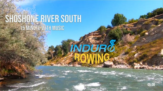 Induro Rowing with Music: Shoshone Ri...