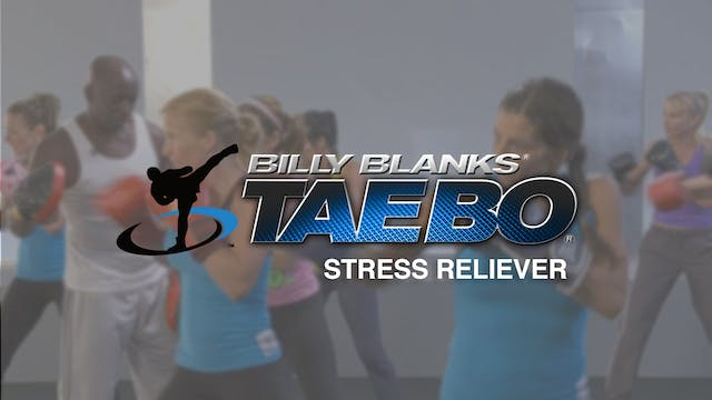Billy Blanks: Stress Reliever