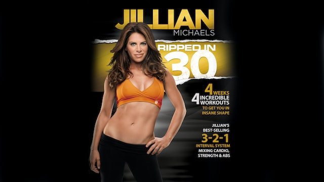 Jillian Michaels: Ripped in 30 - Complete