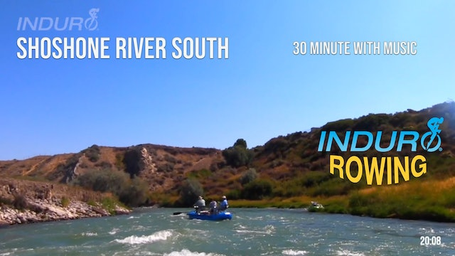 Induro Rowing with Music: Shoshone River South, Wyoming - 30 Minute Motion Row