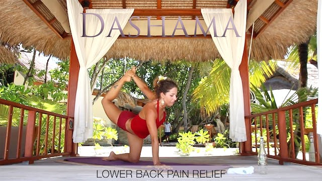 Dashama: Lower Back Pain Relief