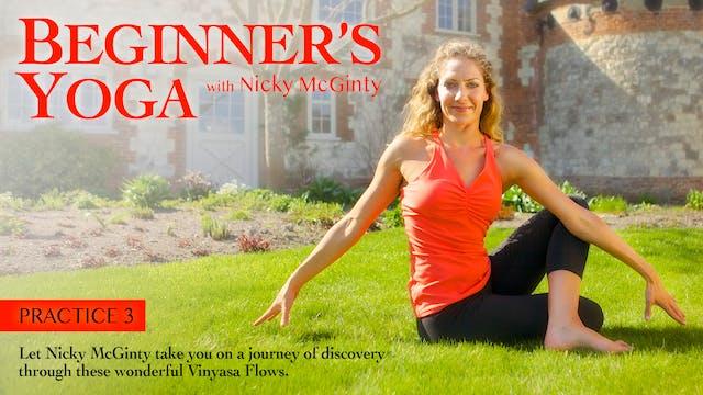 Beginners Yoga with Nicky McGinty: Pr...