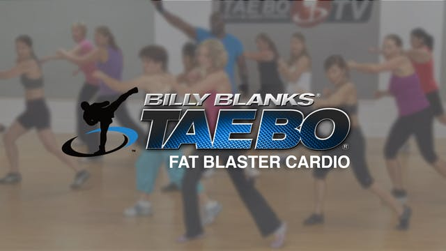 Billy Blanks: Fat Blaster Cardio