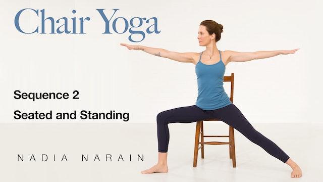 Nadia Narain: Chair Yoga - Sequence 2