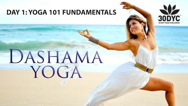 30 Day Yoga Challenge: Practice 1 - Yoga 101 Fundamentals