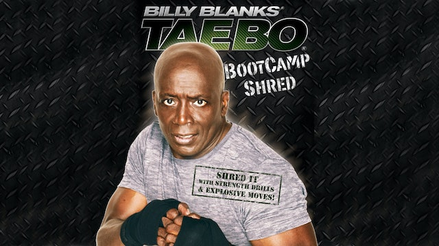 Billy Blanks: TaeBo Bootcamp Shred
