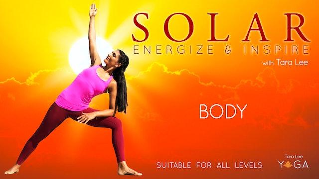Solar: Energise & Inspire Yoga with Tara Lee - Solar Body