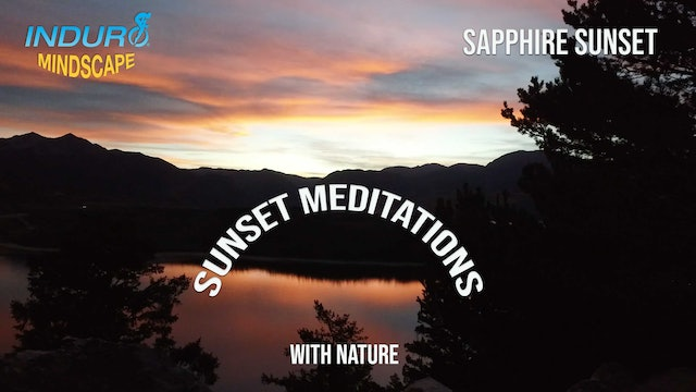 Induro Mindscape with the Sounds of Nature: Sapphire Sunset, Colorado