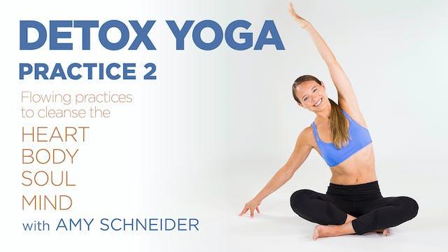 Amy Schneider: Detox Yoga - Practice 2