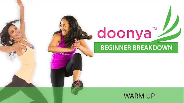 Doonya: Beginner Breakdown - Warm Up