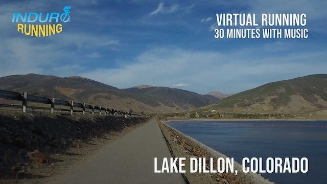 Induro Running: Lake Dillon, Colorado - 30 Minute Run