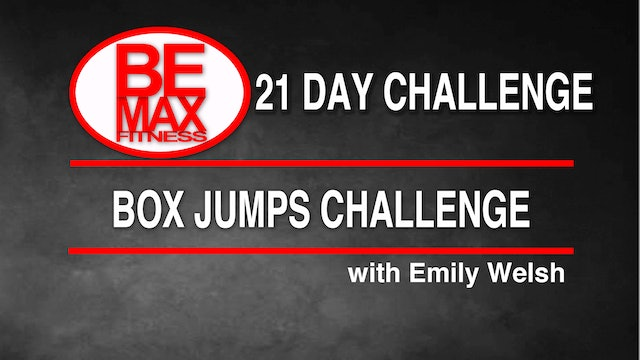Bemax: Plyometric Box Jumps