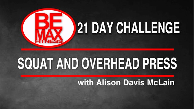 Bemax: Squat + Press Challenge