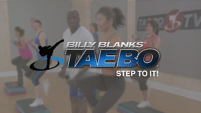 Billy Blanks: Step to It!